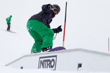 Event Snowboarden Nicola Thost