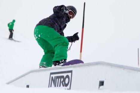 Event Snowboarden Nicola Thost