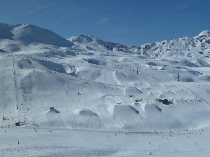 Snowpark w Val d'Isere