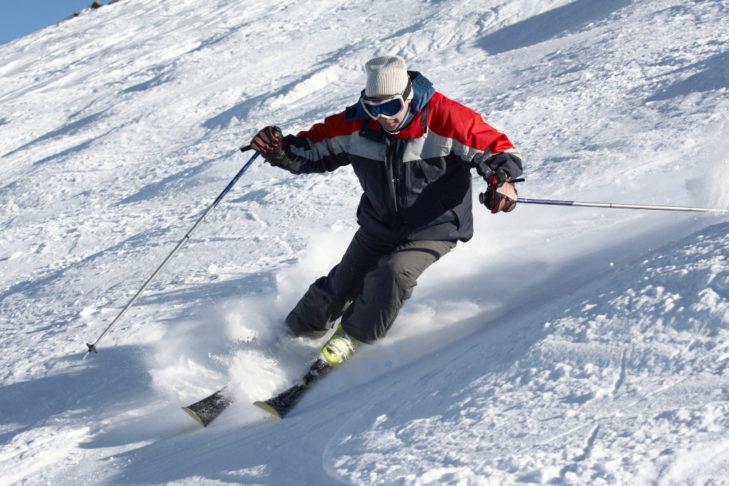 Zwrotność i zmysł równowagi podczas jazdy na nartach