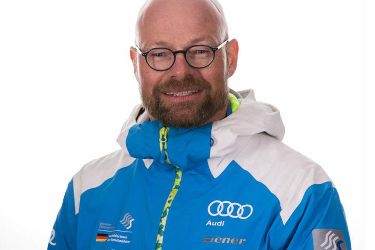 Max Holzmann, członek zarządu Niemieckiego Związku Instruktorów Narciarstwa.