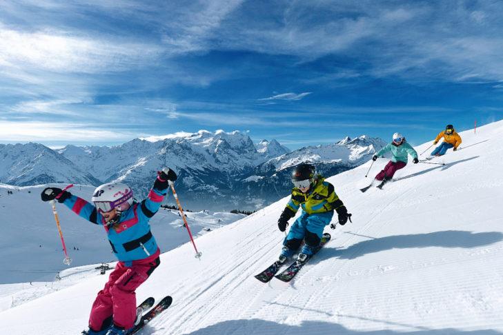 Teren narciarski Meiringen-Hasliberg jest wymarzony dla rodzin z dziećmi.