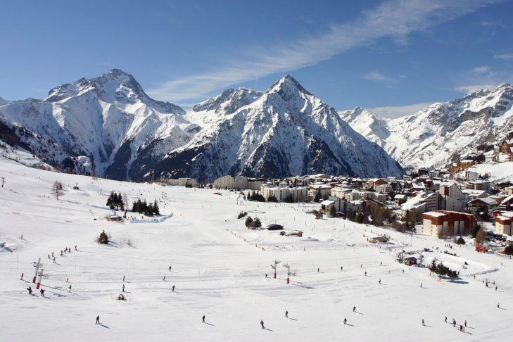Trasy do ćwiczeń w Les 2 Alpes