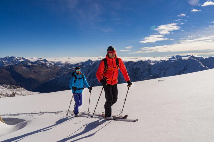 Narty do skitour są idealne do wędrówek.