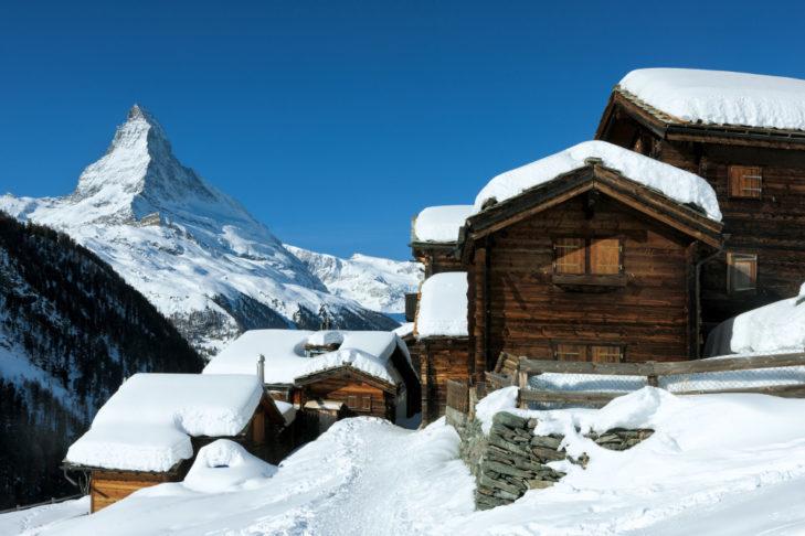 W Zermatt można się cieszyć czystym powietrzem.