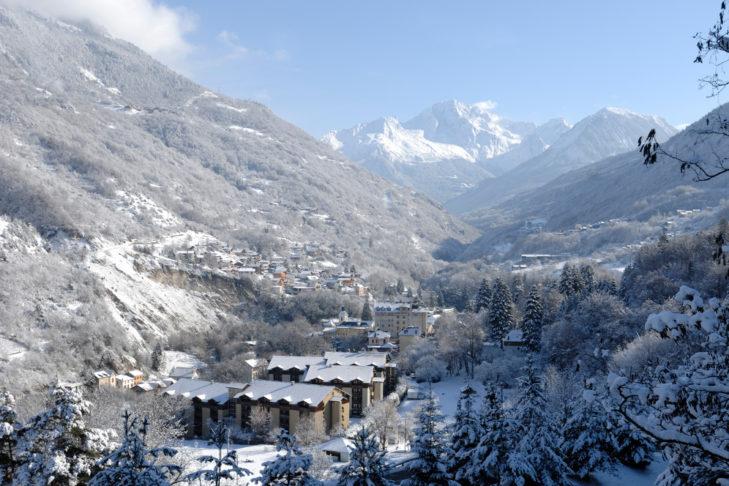 Także mniejsze wioski, jak Brides-les-Bains są wyjątkowo urokliwe.
