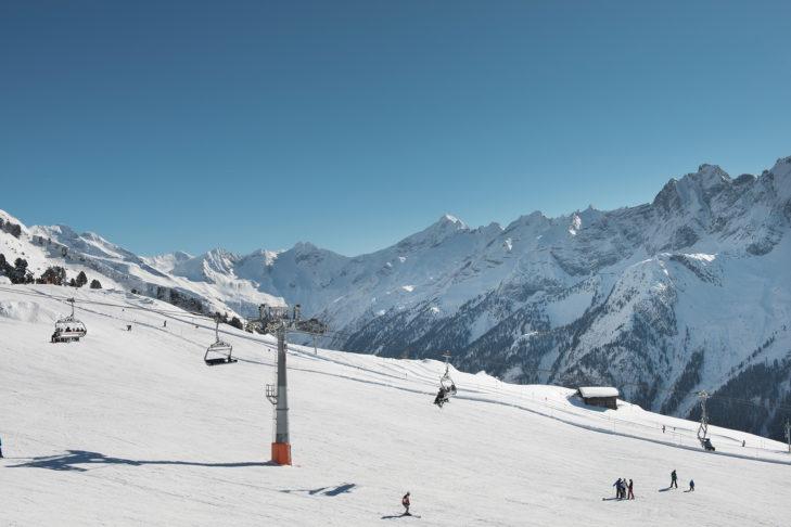 Szczyt Ahorn jest idealny dla narciarzy rekreacyjnych.