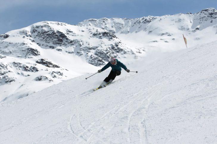 Trasy narciarskie w Bormio są idealne do jazdy carvingowej.