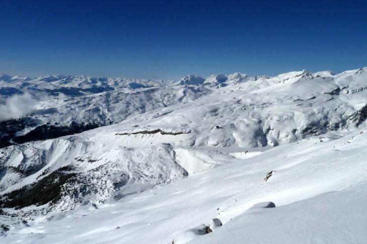 Na terenie narciarskim Laax do dyspozycji jest aż 187 km tras.