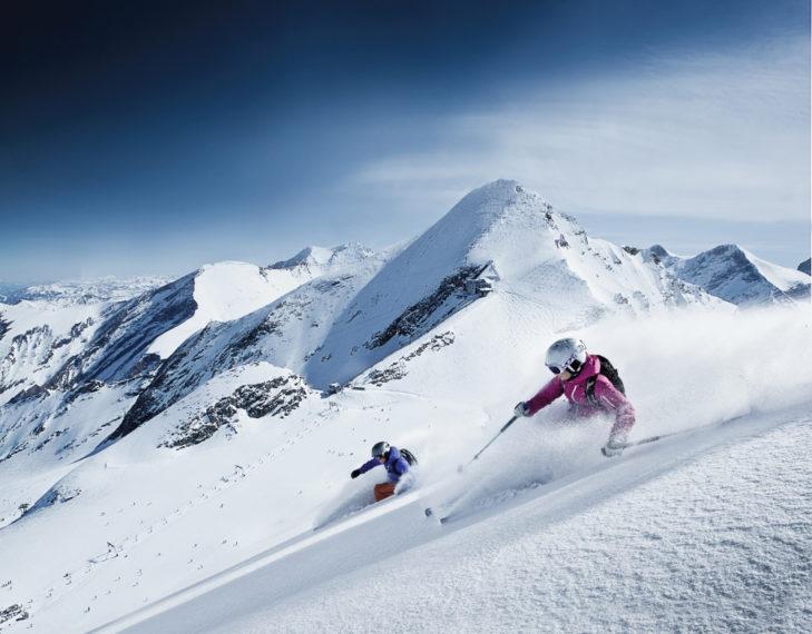 Na Kitzsteinhorn dostępnych jest 5 szlaków narciarskich.