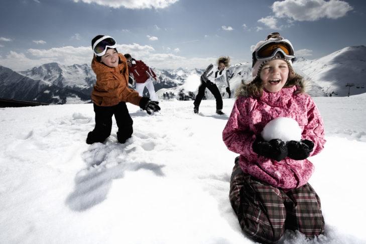 Zillertal Arena oferuje bogaty wybór rozrywek dla dzieci.
