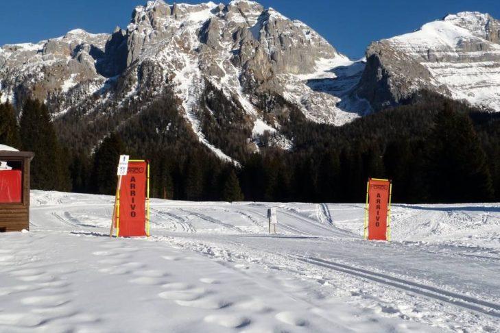 W Madonna di Campiglio nie zabraknie również biegówek.