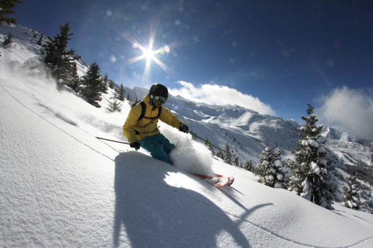 Teren narciarski Les 7 Laux znajduje się niedaleko Grenoble.