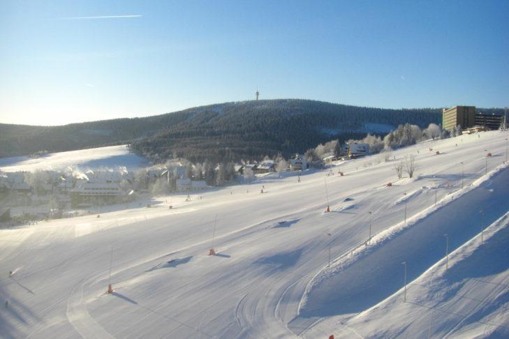 Region narciarski Fichtelberg/Klínovec jest szczególnie polecany dla rodzin z dziećmi.