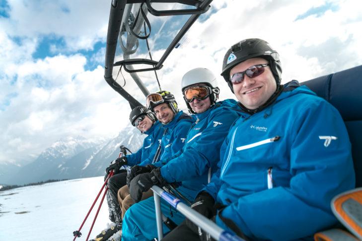 Obecne kierownictwo SnowTrex: Andreas Rühl, Marc Behrmann, Stefan Willems, Thomas Bartel (od lewej).