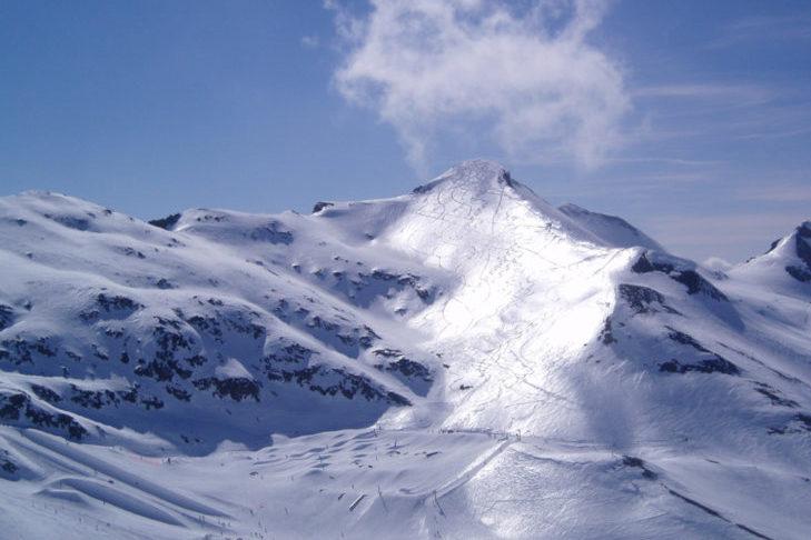 Po słonecznej stronie w Les 2 Alpes