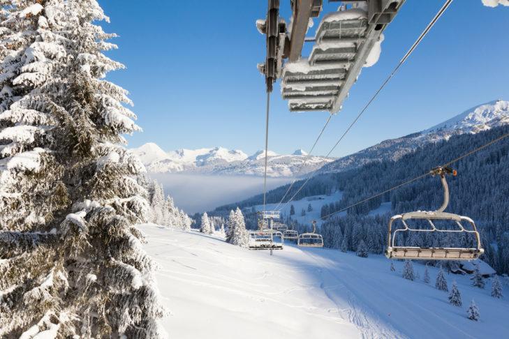 Region narciarski Portes du Soleil to niekończące się nartostrady.