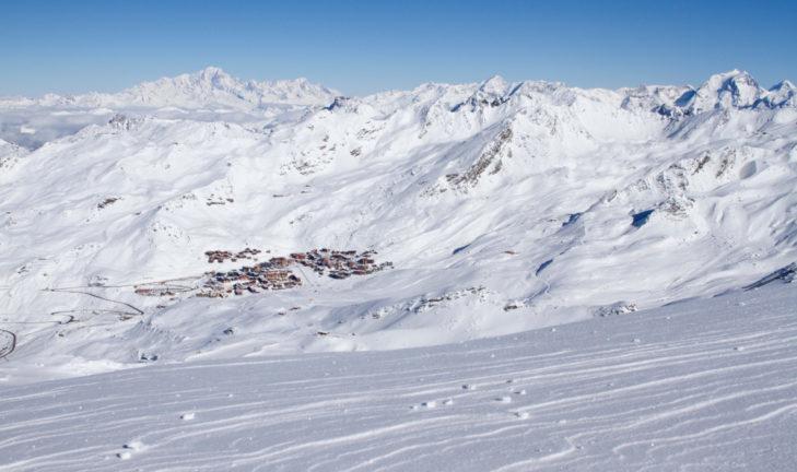 Obiekt bezpośrednio na terenie narciarskim: standard w Val Thorens