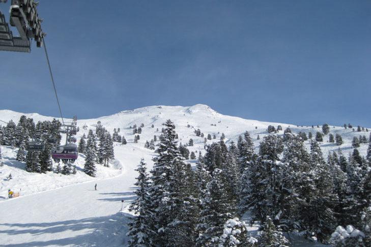 Widok na teren narciarski Hochfügen/Hochzillertal.
