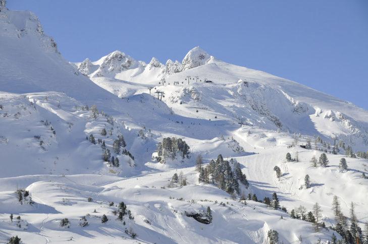 Białe krajobrazy Obertauern.