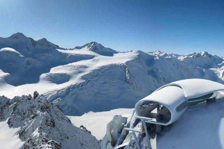 Na 1. miejscu wśród najwyższych terenów narciarskich: Pitztaler Gletscher.