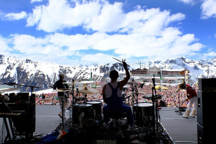 Wyjątkowa atrakcja w Ischgl: koncert Top of the Mountain.