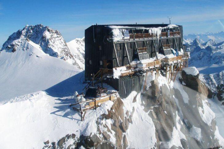 Najwyżej położona górska chatka.