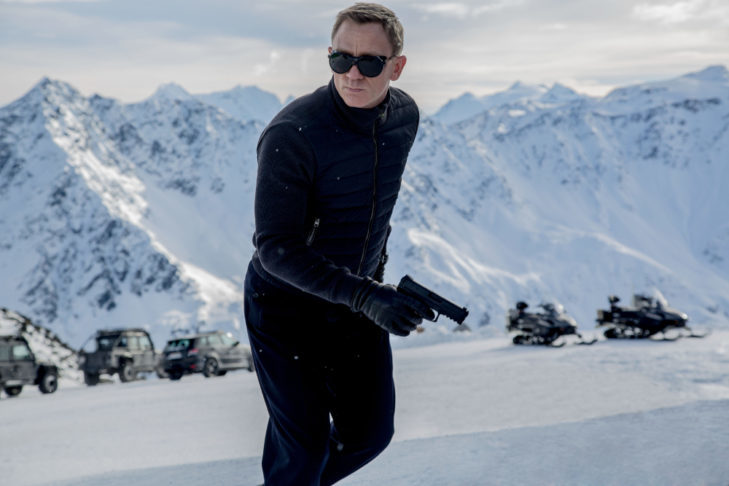 "Daniel Craig jako James Bond w ""Spectre""."