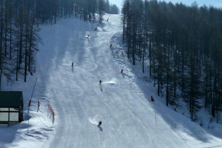 """Jedna z tras narciarskich na """"Drodze Mlecznej""""."""